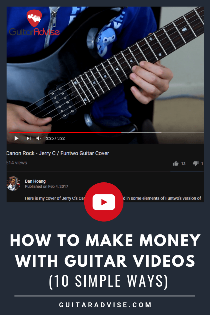 Make Money with Guitar