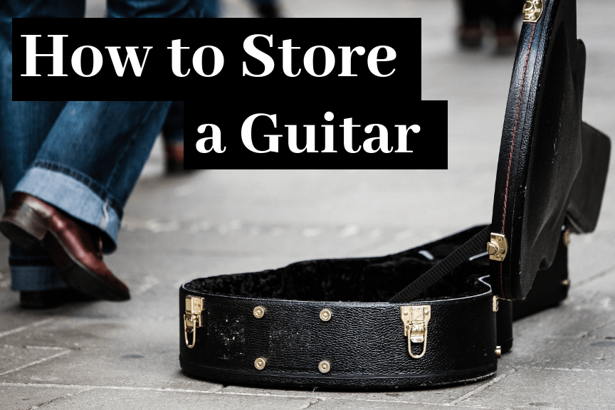 How to Store a Guitar at Home (7 Simple Tips)