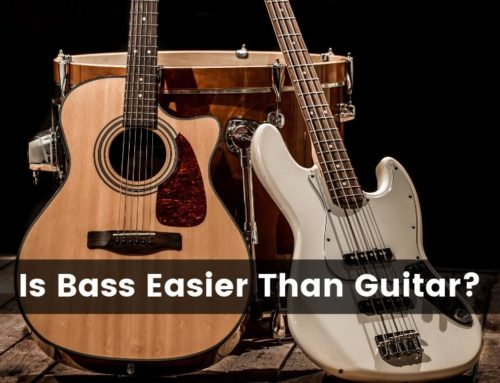 Is Bass Easier Than Guitar?