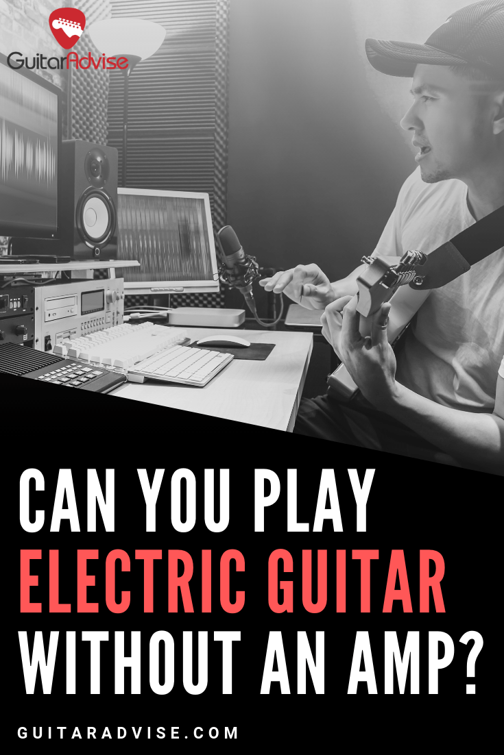 Electric Guitar Without Amp