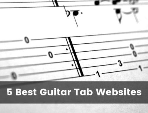 5 Best Guitar Tab Websites