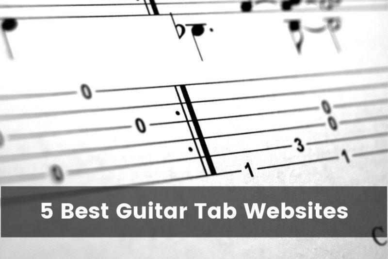 Best Guitar Tab Websites